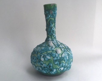 Wonderful Lava Glaze Pottery Vase