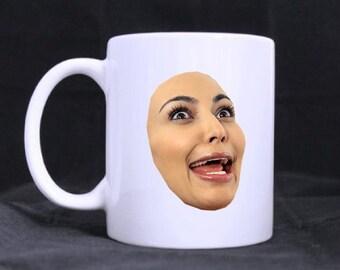 kim kardashian mug