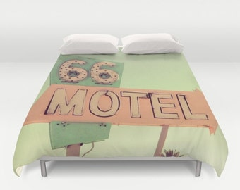 ROUTE 66  Duvet Cover Double/Full-Queen-King Cover Blanket Bedding Bed Home and Living