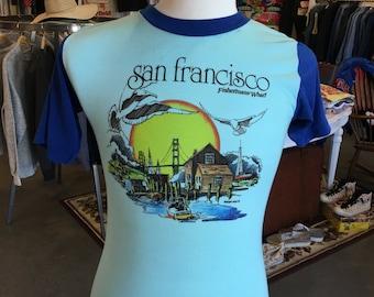Vintage San Francisco Fisherman Wharf 70's