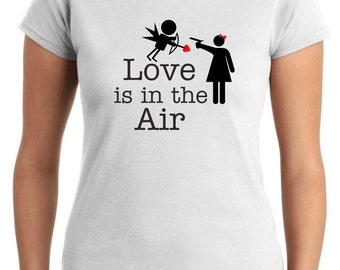 T-shirt T0098 love is in the air