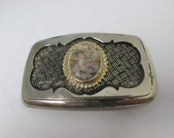 Vintage Natural Stone Belt Buckle