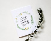 To My Ever So Lovely Friend Card - Birthday / Bridal Shower / Just Because / Thinking of You / Friendship Card