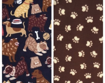 Fleece Small Dog Blanket(D158,D252)