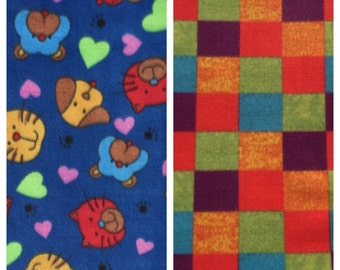 Fleece Dog/Cat Blanket(D42)