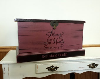 Custom Chest Toy Box Hope Chest Memory Box By