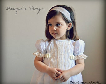 MARTINA(1T to 6+ years).Toddler.Girl.Dress.Gown.Imperial batiste,swiss lace.Custom your OWN outfit.Baptism.Heirloom.Easter.Wedding.Communion
