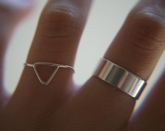 SIMPLE SILVER BAND · sterling silver ring · made to order · sterling · handmade ring · polished finish