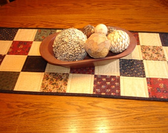 Quilted Table Runner/ Table Topper Item #454