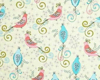 Soul Blossom Bird Fabric by Benartex