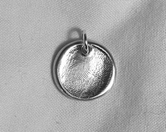 FINGERPRINT JEWELLERY Personalized Fingerprint Charm Pendant