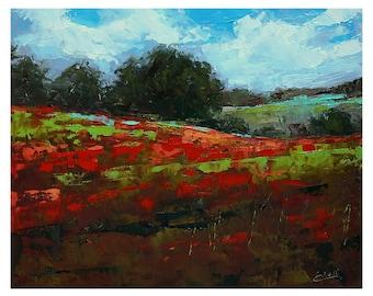 """Original Oil Painting - Landscape - 8""""X 10"""""""