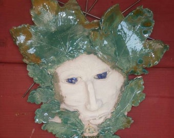 Beaders green man