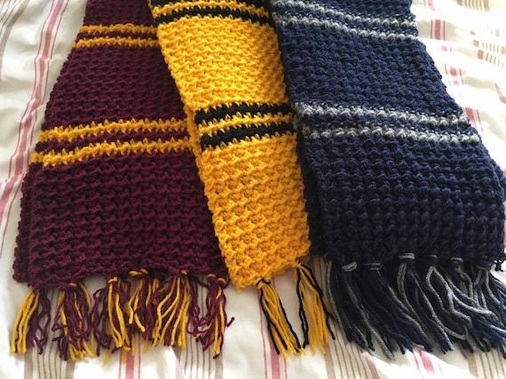 Harry Potter Crochet Scarf Pattern