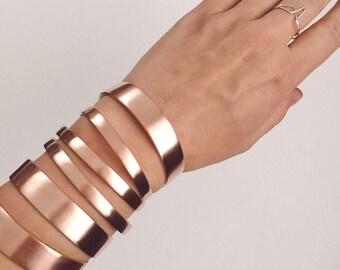 Fundamental Copper Cuff - Raw Copper Cuff