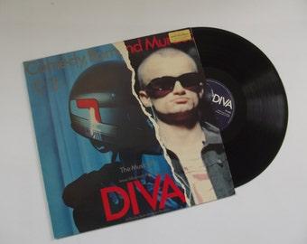 Diva, comedy, romance, opera, vinyl record album
