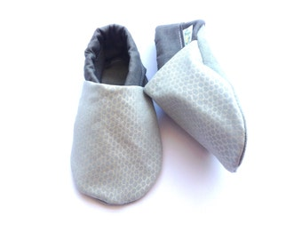 Pearl Geometric Baby Shoes
