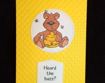 Heard The Buzz?  Greeting Card