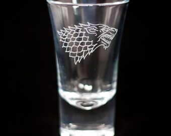 Game of Thrones Emblem (Shot glasses)