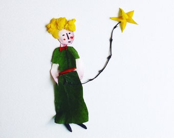 Gaia Gives ~ The Little Prince Flower Art