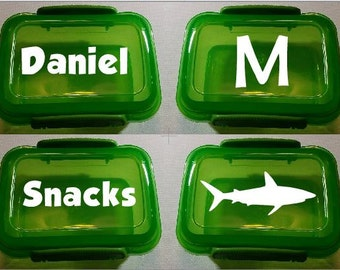 Plastic Snack Containers