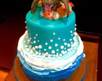Gumpaste cake toppers - sugar scalptures