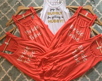 Custom Bachelorette Party Shirts