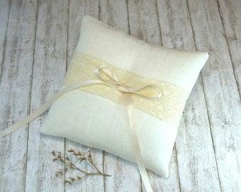 Ring Bearer Pillows,Ring pillow,Wedding Ring Pillow, Pillow for rustic wedding