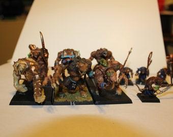 Skaven Rat Ogres and Packmasters/Pack Leaders