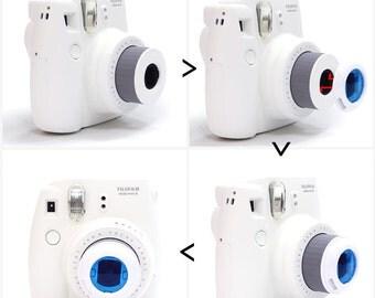 Color Filter Lens for Fujifilm Instax Mini 8 7S Camera