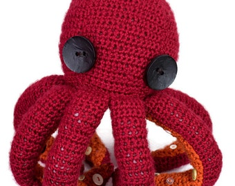 Adorable Octopus Stuffed Animal - Cuddly Friend