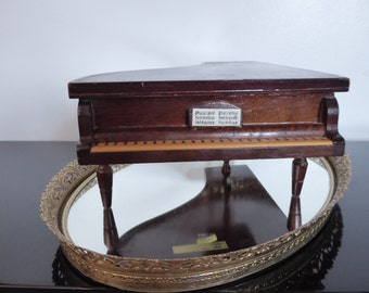 Vintage Piano Music  Jewelry Box