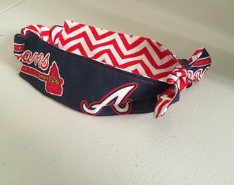 Atlanta  braves headband