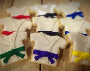 Karate Sugar Cookies