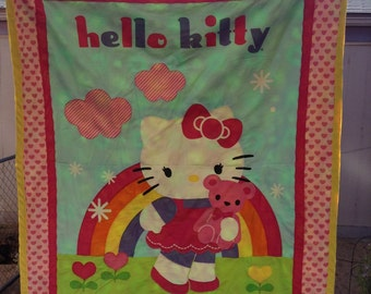 Hello Kitty Toddler Quilts