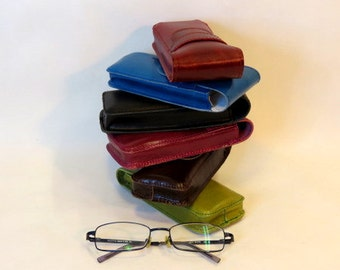 Leather Glasses Case, Spectackle, Leather Case, Reading Glasses