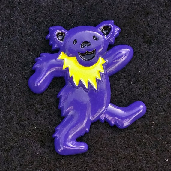 Dancing bear pin-9175