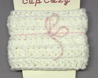 Hand crochet cup cozy