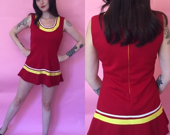 Small Womens Cheerleader Uniform