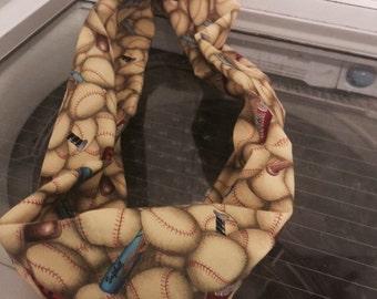Softball scarf handmade