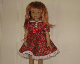 Red apple dress for Effner