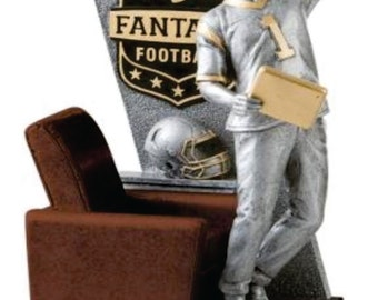 Fantasy Football Chair Celebration