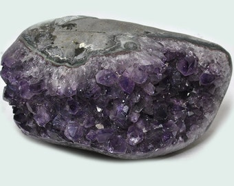 Uruguay Amethyst, polished side, no. 27