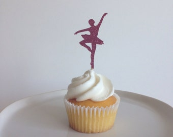Ballet Dancer Cupcake Topper