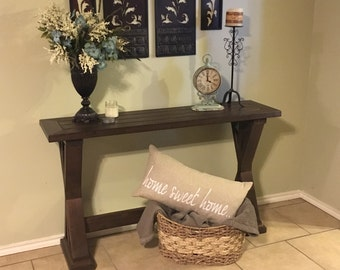 Rustic Entryway Table - Local pickup only