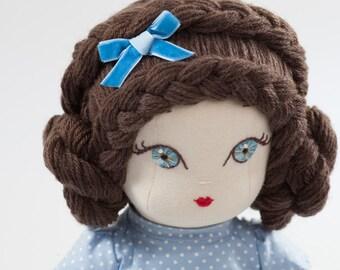 Natasha - Handmade Cloth Doll