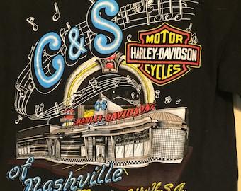 Nashville offic Harley Davidson T-shirt size medium