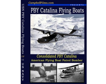 Consolidated PBY and Flying Boats Aircraft old vintage films