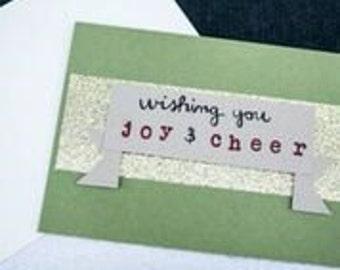 Wishing You Joy & Cheer Christmas Card