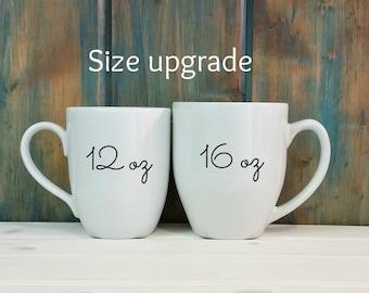 Size upgrade
